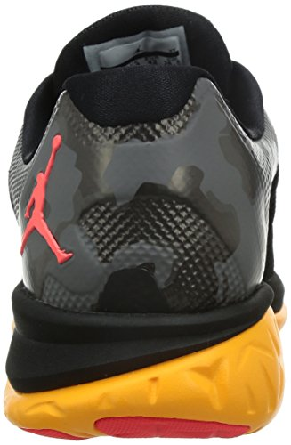 Nike Jordan Flight Runner 2, Zapatillas de Running para Hombre Negro / Naranja / Rosa (Black / Infrared 23-Laser Orange)