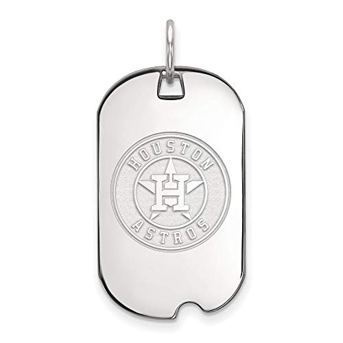 MLB Houston Astros SS LogoArt Houston Astros Small Dog Tag Size One Size