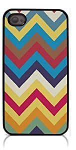 HeartCase Hard Case for Iphone 4 4G 4S (Chevron Anchor Boat )