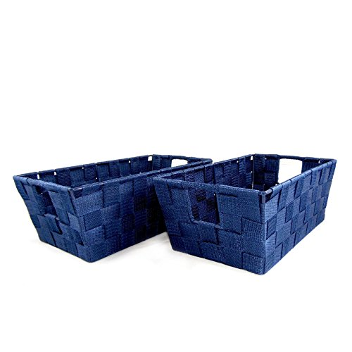 Set Woven Baskets Storage Playroom product image