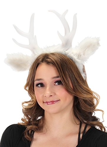 elope Light-up Deer Antler LumenHorns Headband White]()