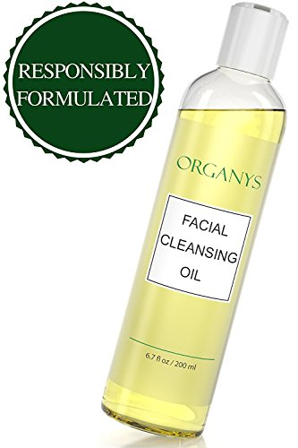 Olive Oil Facial - Organys Deep Cleansing Oil & Makeup Remover Best Natural Gentle Daily Face Wash Cleanser Reduces The Look Of Pores Acne Blackheads Breakouts For Sensitive Oily Dry Combination Skin