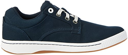 Caterpillar Herren Opus Canvas Sneaker Blau (Mens Navy)