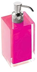 Gedy M117392 - Dispensador baño rainbow rosa ra8176