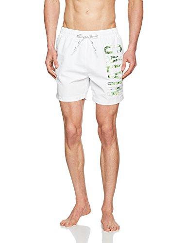 Medium Blanc Homme Calvin Klein bianco Drawstring Short 5wa0nFxq6