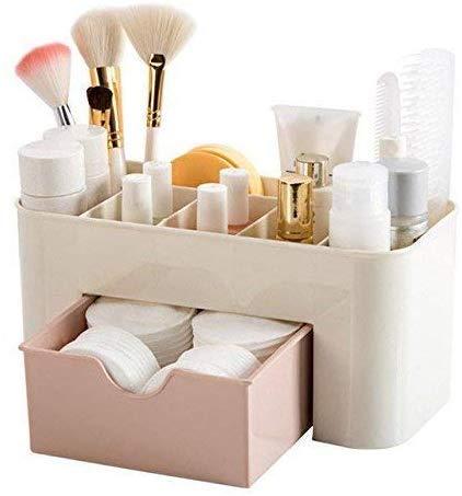 GOPINATHJI® Makeup Organizer – Cosmetic Storage Drawers and Jewelry Display Box