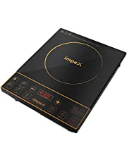 Impex IR-2701 Infrared Induction Cooktop With 8 Temperature Levels and 4 Digital LED Display