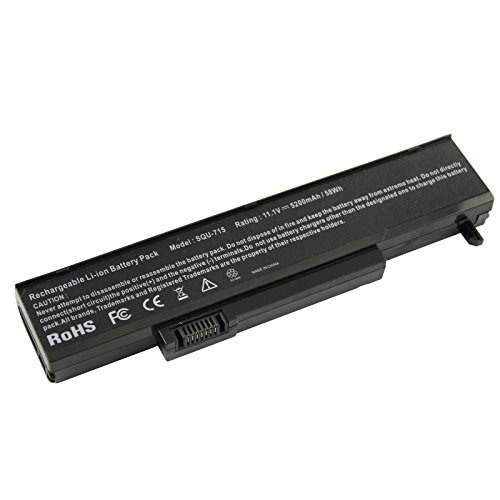 (Futurebatt 5200mAh Laptop Battery for Gateway, Gateway T Gateway M Series, SQU-715 SQU-720 W35044LB W35044LB-SP W35044LB-SY)