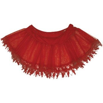 Red Teardrop Petticoat (Teardrop Petticoat (Red) Adult Accessory)