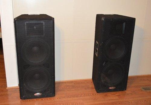 """D 2 L Bluecell Pack of 2 Speaker Cabinet Port Tube for DJ//PA Speaker 2/"""" Diameter x 4/"""" L x 4"""