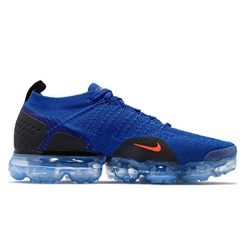 black 2 NIKE Men's Air Total Racer Flyknit Vapormax Crimson Racer Crimson Blue Total Blue Black fwq6xw