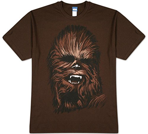 Chewy Face (Star Wars - Chewy Face T-Shirt Size M)