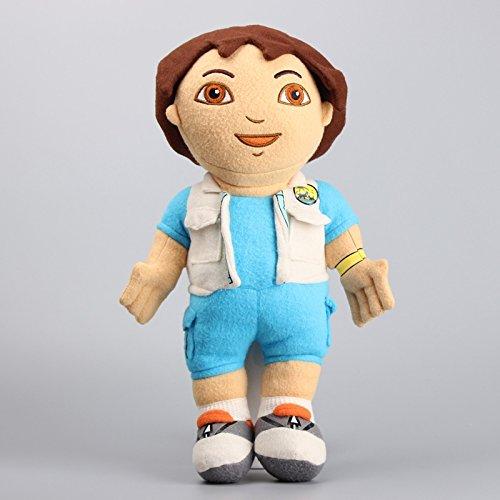[Dora the Explorer Go Diego Go 15 Inch Toddler Stuffed Plush Kids Toys] (Dora Diego And Boots)