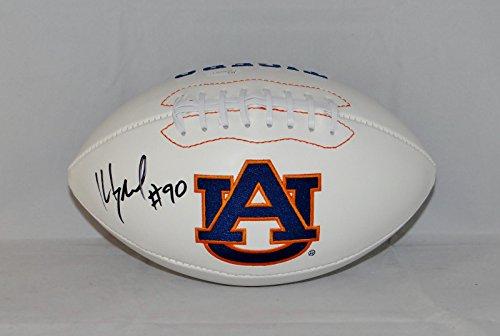 Kevin Greene Autographed Auburn Tigers Logo Football- JSA W Auth ()