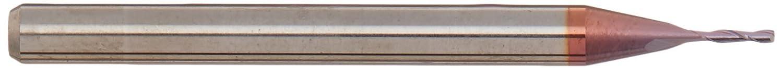 TiCN Coating 2 Flute 1//32 Diameter 1//8 Shank 1//32 Diameter 1//8 LOC 1-1//2 OAL 1//8 Shank CGC Gorilla Mill 1-1//2 OAL 1//8 LOC CGC Tools CEM132F2TICN Primate Square Nose End Mill