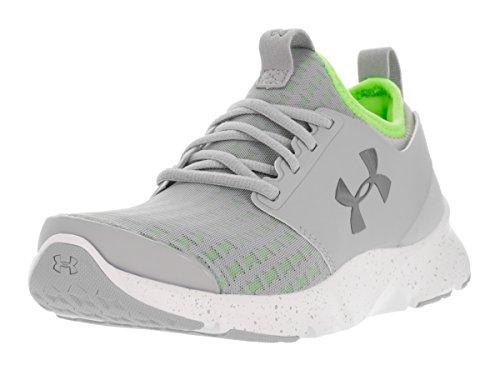 Pewter Women's Armour Gray Shoes Drift White Metallic Under Running UA Overcast qRwfxxAp