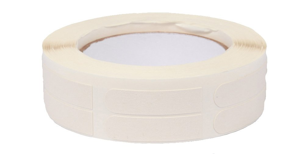 Ebonite Ultra Grip Bowlers Tape (500 Piece Roll), White, 1/2-Inch by Ebonite