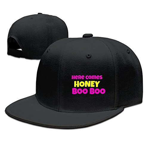 Price comparison product image Runy Custom Here Comes Honey Boo Boo Adjustable Baseball Hat & Cap Black