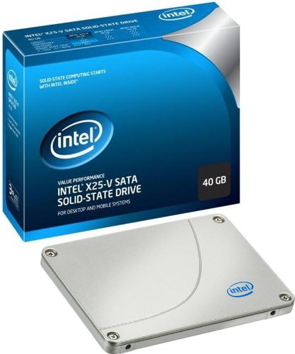 SSD 40GB SATA Intel 40GB X25 V Value II MLC Solid State Driv