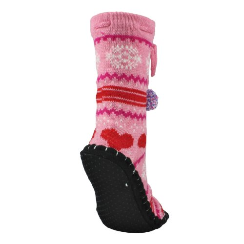 Hüttenschuhe LOVELY KNITTED SOX pink Gr. 37-40