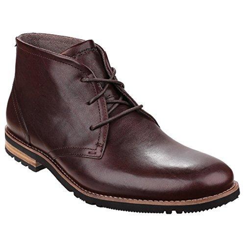 Rockport Rockport - Botas para hombre marrón oscuro