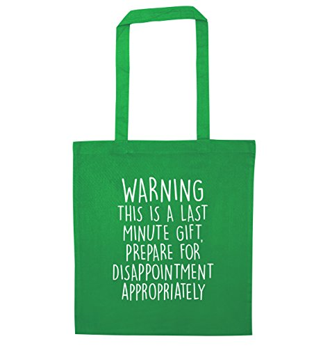 Gift for Creative Last Flox Green Bag Tote Minute Prepare Disappointment Z1XZ4q0