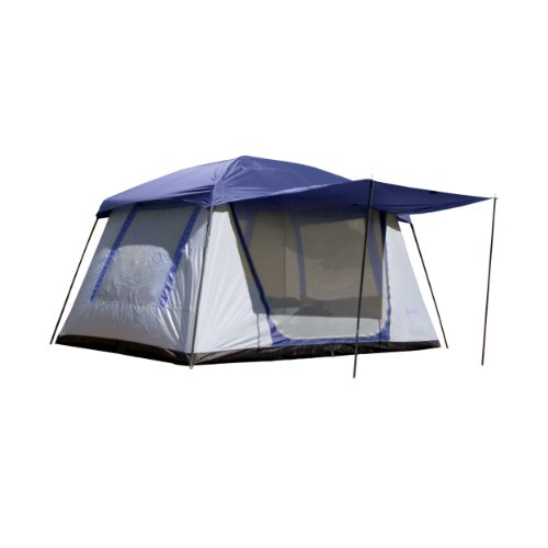 PahaQue Wilderness Green Mountain 5XD Tent, Grey/Blue