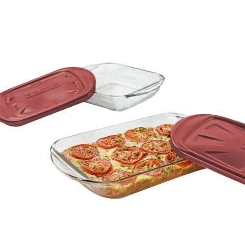 Anchor Hocking 4 Pc. Glass Bakeware Set -