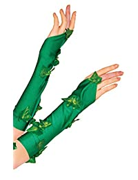 Rubies Costume Women's DC Comics Poison Ivy Glovelette, Green, One Size