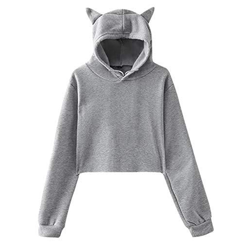 Lapras Pokemon Women Cat Ear Hoodie Sweater Long