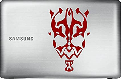 STAR WARS DARTH MAUL Red 6quot Vinyl Decal Sticker For Car Automobile Window