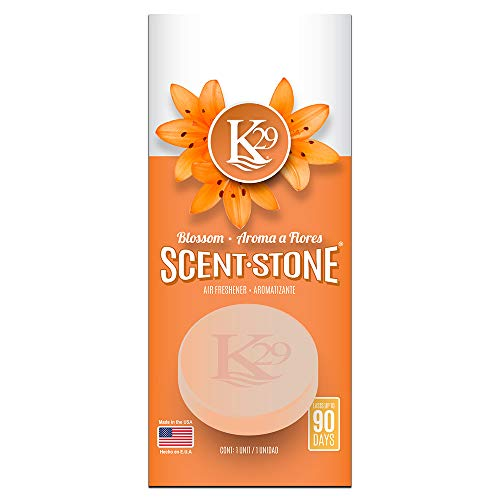 K29 Keystone Scent-stone Car and Home Air Freshener, Blossom Fast Shipping