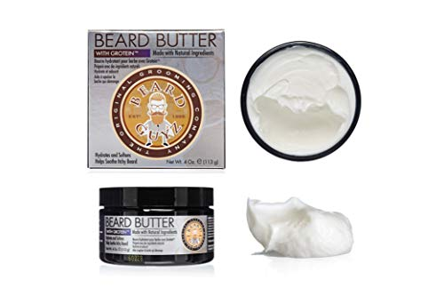 Best Beard Butter for Men – Made With Oils, Butters and Nourishing Extracts – Smells Great – Eliminates Dry & Itchy Skin – Citrus Scented Mens Beard Conditioner/4 oz. by Beard Guyz