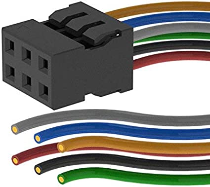 6 CIRC CABLE ASSY 20 X Pack of 10 0511100650-20-A-6-X