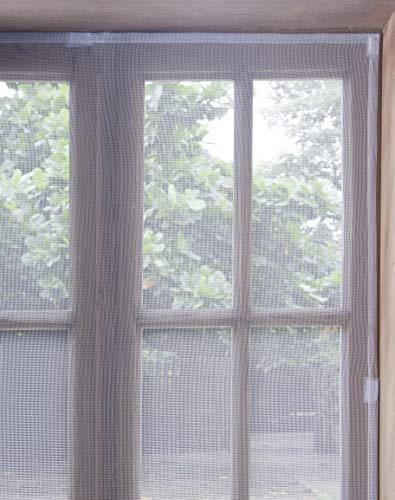 Tela Mosquiteiro Janela Protetora Tela Branyl Branco 1.25x1.65 m Tecido