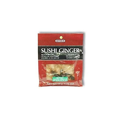 (12 PACK) - Clearspring Sushi Ginger| 50 g |12 PACK - SUPER SAVER - SAVE MONEY