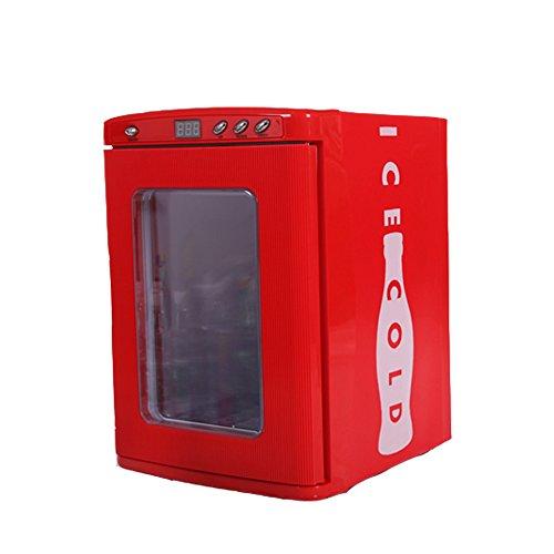 Portable L Screen : Docheer mini fridge liters bottles cooler warmer
