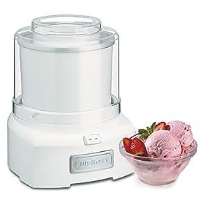 amazon com cuisinart ice 21 1 5 quart frozen yogurt ice cream maker
