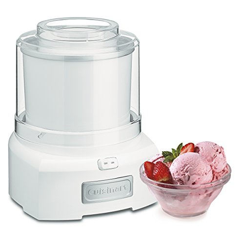 Cuisinart ICE-21 1.5 Quart Frozen Yogurt-Ice Cream Maker (White) ()