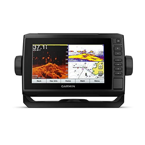 Garmin ECHOMAP Plus 74CV, US Offshore G3 w/GT23, 010-01894-05
