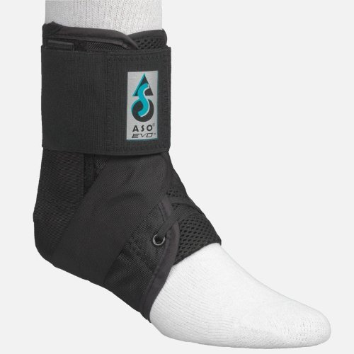 MedSpec ASO EVO Ankle Stabilizer - Black - Medium by ASO-EVO (Evo Ankle Aso Stabilizer)