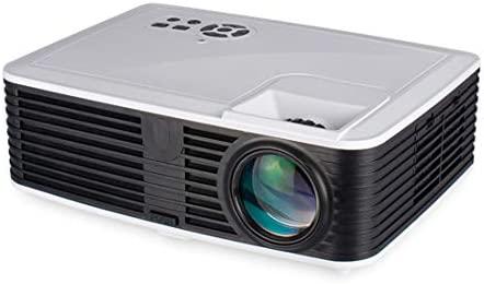 Proyector de Video 4500 Lúmenes HD Proyectores Portátil Multimedi ...