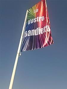 savent, Banderas Light Deluxe personalizadas cm. 100x 300(listones no incluidas)–100x 300