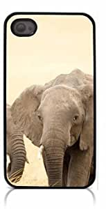 HeartCase Hard Case for Iphone 4 4G 4S (Elephant Cute )