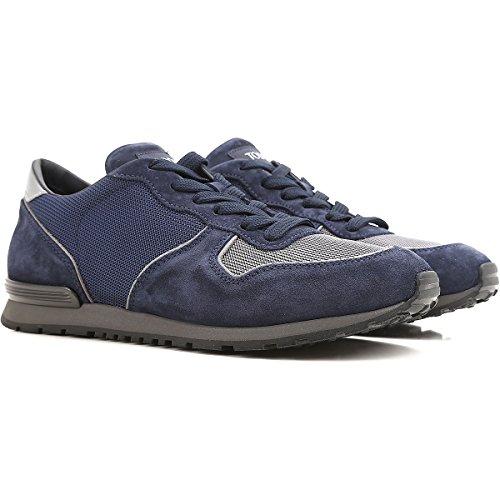 Tod's Sneakers Uomo XXM0YM0R360H9189WZ Tessuto Blu Con Tarjeta De Crédito Suministro De Espacio Libre Muchos Tipos De Línea Barata Salida Cómoda HdFsPSq