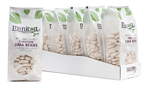 Peruvian Lima Beans by Manitou Trading Company, 15-Ounce by Manitou Trading Company