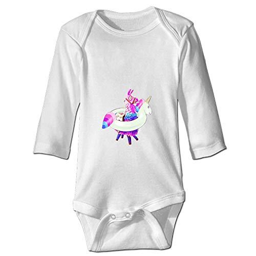 Price comparison product image Loot Llama Pinata Fortnite with A Unicorn Buoy Baby Sports Bodysuit