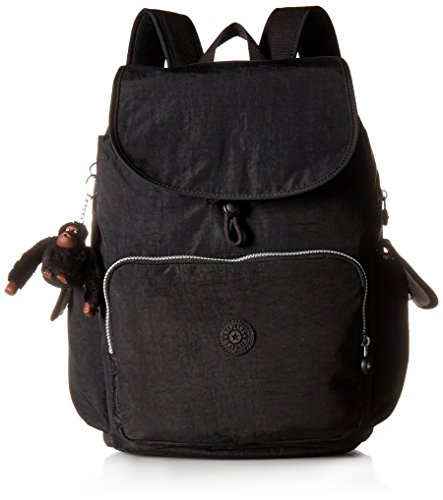 Kipling Women's Zax Solid Diaper Backpack, Black by Kipling