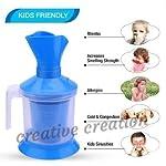 D-NIJ HEALTHCARE 3 In 1 Technology Steam Vaporizer, Nose Steamer, Cough Steamer, Nozzle Inhaler & Nose Vaporizer(multicolour)