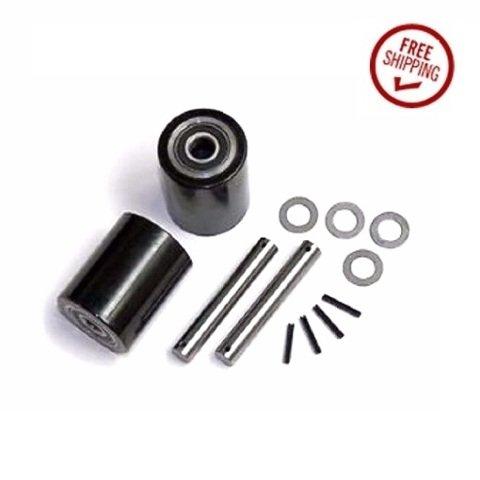 Wesco 272748 Pallet Jack Load Support Wheel Kit WiC1-LW 3'' x 3-3/8''